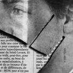 masca facuta din taieturi ziare